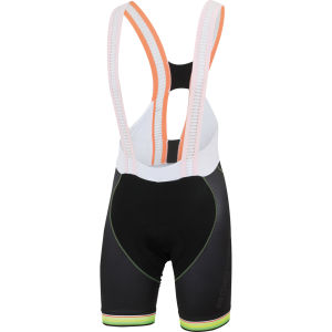 Sportful Bodyfit Pro Bib Shorts Limited Edition - Black/Yellow