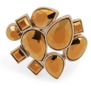 Kardashian Kollection KK Statement Stone Ring - Gold