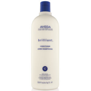 Aveda Brilliant Conditioner (1000 ml) - (verdt £ 102.50)