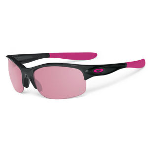 Oakley Women's Commit Squared Polished 20 Black Iridium Sunglasses - Black