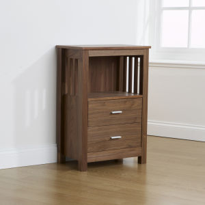 Ashford Media Unit - Walnut