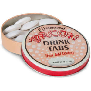 Bacon Flavoured Drink Tablets