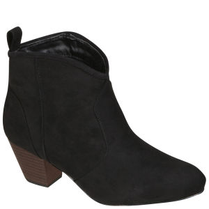 Odeon Women's Heeled Ankle Boots - Black