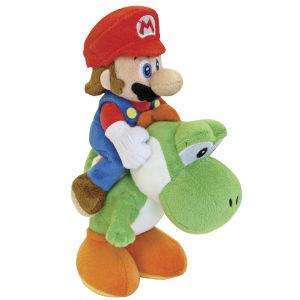 Nintendo Super Mario and Yoshi Riders Plush - 22cm