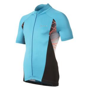 Odlo Tarmac Ss Fz Cycling Jersey - Blue