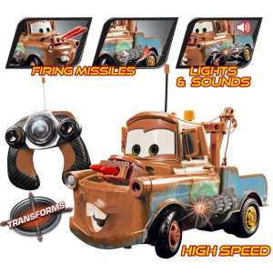 Cars 2: Remote Control Mater 1:16 Scale