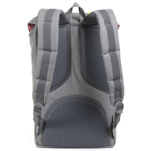 Herschel Supply Co. Little America Backpack - Grey/Yellow Rubber: Image 4