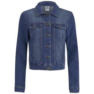 Vero Moda Women's Soya Denim Jacket - Blue Denim