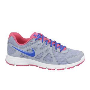 Nike Men's Revolution 2 Running Shoes - Grey/Blue/Pink