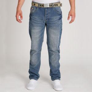 Seven Series Men's Phoenix  Jeans - Light Wash
