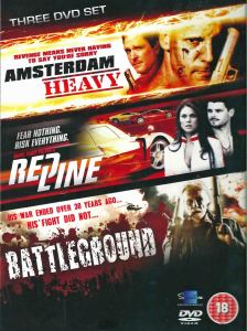 Action Movies Verzameling (Amsterdam Heavy / Red Line / Battleground)