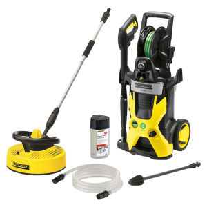 Karcher Eco Pressure Washer with T300 Patio Cleaner