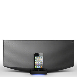 Sony All-In-One Bluetooth Audio System with Dock for iPhone, iPod and iPad - Silver