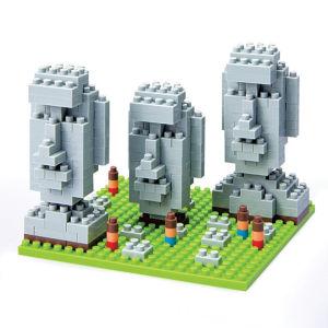 Nanoblock Moai Statues Easter Island