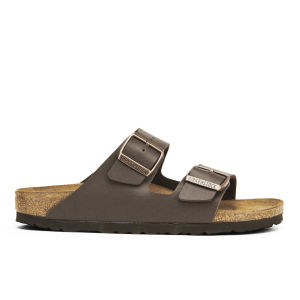 Birkenstock Women's Arizona Slim Fit Double Strap Sandals - Dark Brown