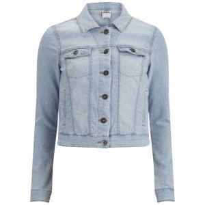 Vero Moda Women's Soya Denim Jacket - Light Blue Denim