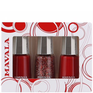 Mavala Reds Exclusive 3 Polish Set