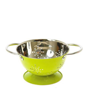 Colander Mini Stars - Lime Green