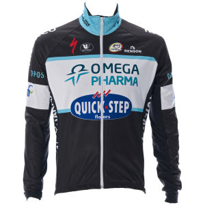 Omega Pharma Quickstep Team Replica Technical Jacket - Black