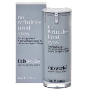 this works No Wrinkles Tired Eyes sérum contour des yeux antifatigue antirides (15ml)