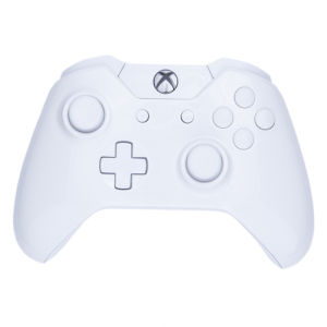 Xbox One Wireless Custom Controller - White on White Gloss