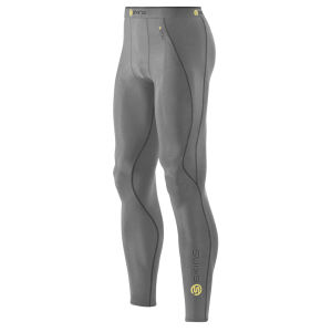Skins Men's A200 Long Tights - Grey Marl