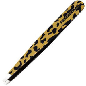 Tweezerman Animal Print Slant Tweezer - Leopard