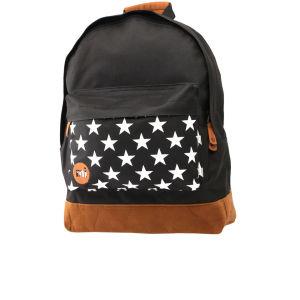 Mi-Pac Star Print Backpack - Black