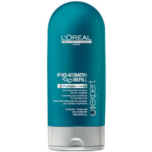 L'Oreal Professionnel Serie Expert Pro-Keratin Refill Conditioner (750ml)  and Pump