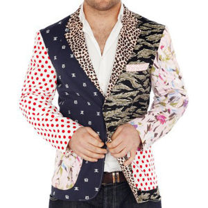 Foul Fashion Men's Blazer - Multi
