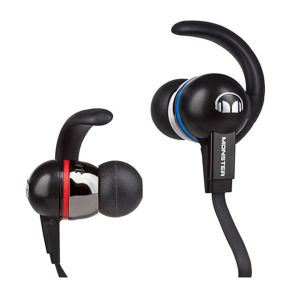 Monster iSport Immersion Noise Isolating Earphones with ControlTalk - Black