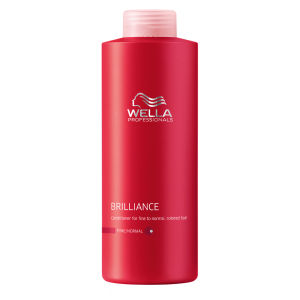 Wella Professionals Brilliance Fine Conditioner (1000 ml) (Wert£ 58,50)