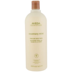 Aveda Rosemary Mint Hand and Body Wash (1000 ml ) - (Värd £68,00)