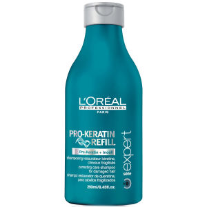L'Oreal Professionnel Serie Expert Pro-Keratin Refill Shampoo (1500ml) and Pump