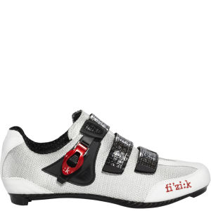Fizik R3 Men's Road Shoe - Black/Red/White
