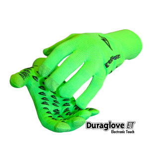 DeFeet Dura Etouch Gloves - Neon Green