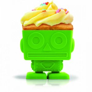 Yumbots - Robot Shaped Silicone Cupcake Moulds
