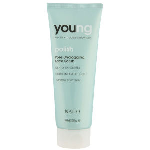Natio Young Pore Unclogging Face Scrub (3 oz)
