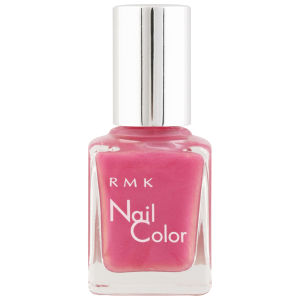 RMK Nail Colour - P-28 Holographic Coral Pink
