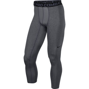 Nike Men's Core 2.0 Compression Tights - Carbon Heather