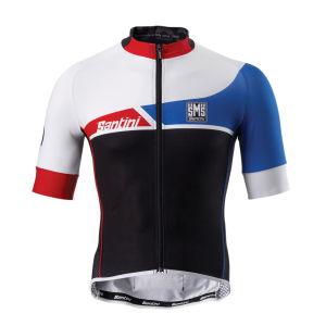 Santini Union Short Sleeve Jersey - Black