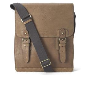 Aspinal of London Men's Small Shadow Messenger Bag - Tan