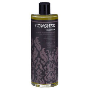 Cowshed - Bullocks - Deep Heat Massage Oil (100ml)