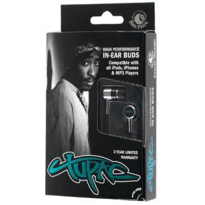 Section 8 Tupac Earphones in Tribute Packaging