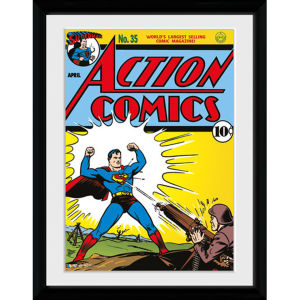 DC Comics Superman Comic - 30x40 Collector Prints