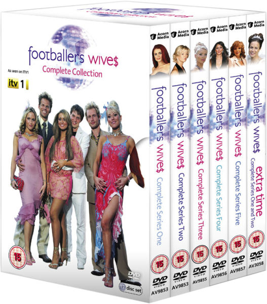 Footballers Wives - The Complete Collection (Includes Extra Time Series 1 and 2)