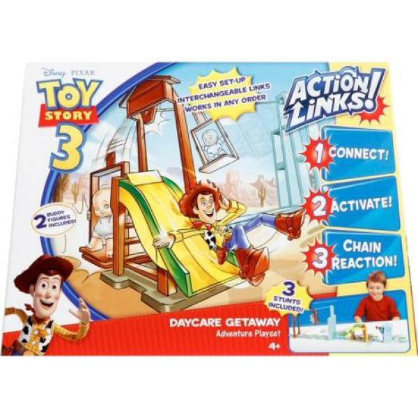 Toy Story Day Care : Toy story action links play set day care escape toys