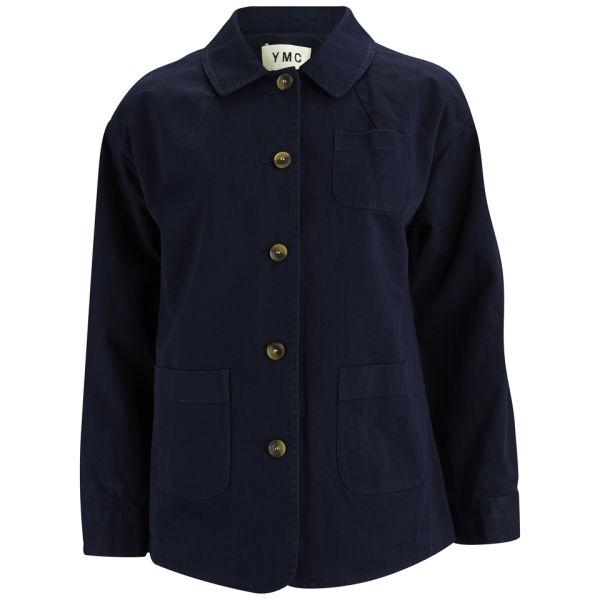 YMC Women's Work Cotton Twill Jacket - Indigo