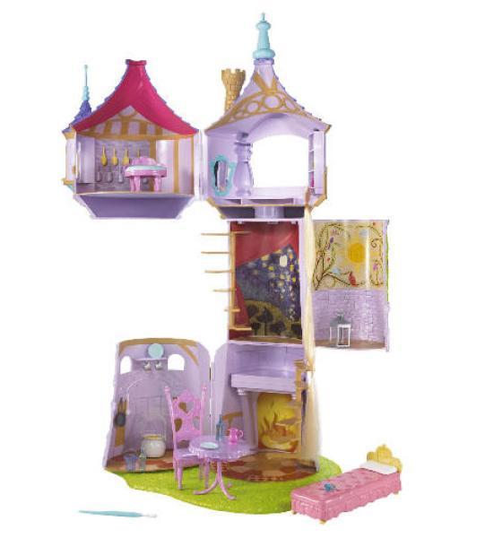 Disney Rapunzel Small Tower Toys Thehut Com