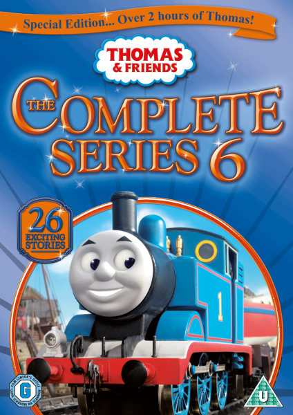 thomas and friends complete series 6 dvd zavvi. Black Bedroom Furniture Sets. Home Design Ideas